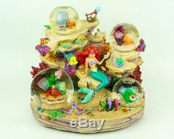 Disney Little Mermaid Ariel Symphony Under The Sea Musical Snowglobe