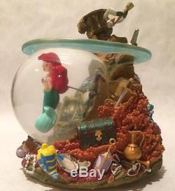 Disney Little Mermaid Part Of Your World Snowglobe Super Rare