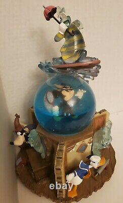 Disney Lonesome Ghost Snow Globe HTF