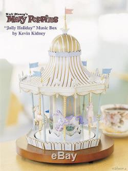 Disney MARY POPPINS Carousel Musical Rotation Commemorative Limited Edition