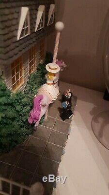 Disney Marry Poppins schneekugel mit Box Spieluhr Snow Globe Key