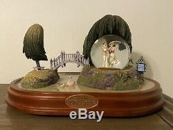 Disney Mary Poppins 40th Anniversary Jolly Holiday Snow Globe