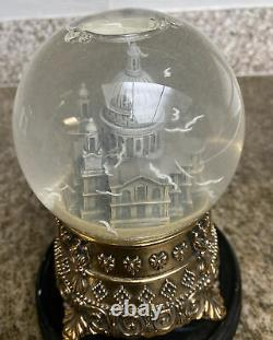 Disney Mary Poppins Feed the Birds St. Paul's Cathedral Snow globe very rare