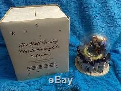 Disney Musical WATER / SNOW GLOBE COLLECTION Peter Pan Lion King Pooh Mickey