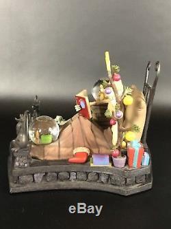 Disney Nightmare Before Christmas Bed Time Jack Skellington Figure/Globe COA