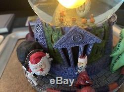 Disney Nightmare Before Christmas Collectible Snow Globe Light Music 1993 Rare