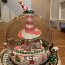 Disney Nightmare Before Christmas Snow Globe very rare from japan used