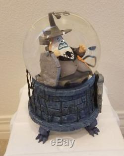 Disney Nightmare Before Christmas The Mayor Musical Snowglobe Water Snow Globe
