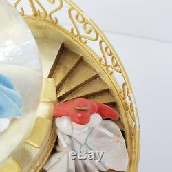 Disney Park Princess Club Castle Staircase Music Snow Globe Happiest Celebration