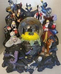 Disney Parks The Art of Disney Disney Villains Light-Up Musical Snow Globe