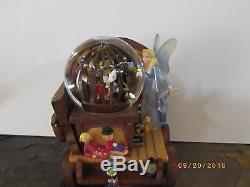 Disney Pinocchio Stromboli Cart Snowglobe
