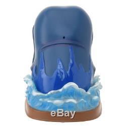 Disney Pinocchio whale snow globe dome ball 25th anniversary