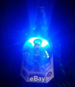 Disney Pixar Brave Merida Eleanor Bear Snow Globe RARE LIGHTS UP