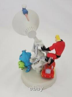 Disney Pixar Lamp Light Luxo Snow Globe Cars Nemo Monster Inc Ratatouille