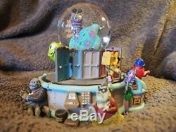 Disney Pixar Monsters Inc Musical Monstropolis Snow Globe If I Didn't Have You