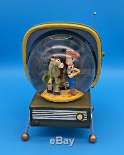 Disney Pixar TOY STORY 2 Snowglobe WOODY and BULLSEYE on TV by Westland