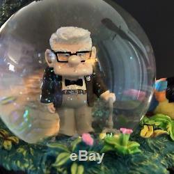 Disney Pixar UP Movie Snow Globe With Blower