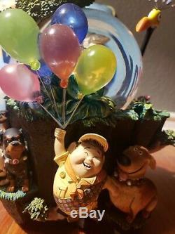 Disney Pixar Up Snow Globe very Rare htf