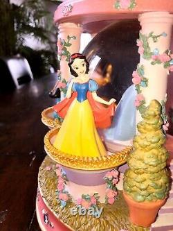 Disney Princess Snow Globe Gazebo with Balconies Musical Light Up Disney Store