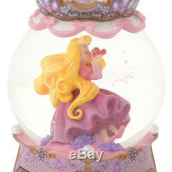 Disney Rapunzel & Pascal snow globe accessory case Dome Jewelry case box figure
