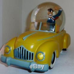 Disney Rare Goofy Motor mania cartoon road rage Snowglobe