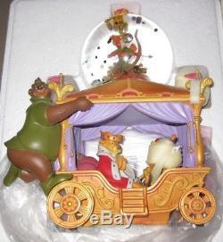 Disney Robin Hood Musical Snowglobe NEVER BEEN DISPLAYED RARE
