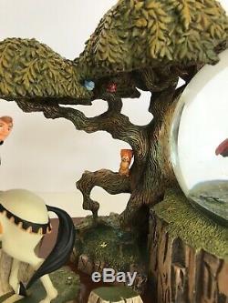 Disney SLEEPING BEAUTY Anniversary SNOWGLOBE AURORA, PRINCE PHILLIP