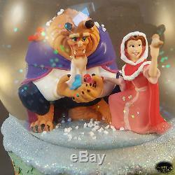 Disney Schneekugel Die Schöne und das Biest NEU Beauty Beast Snowglobe