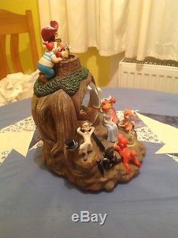 Disney Schneekugel Spieluhr Snowglobe Peter Pan Licht Light Up rar