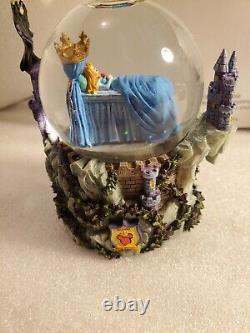 Disney Sleeping Beauty And Maleficent Snow Globe
