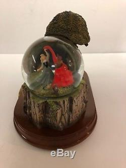 Disney Sleeping Beauty Musical Storybook Snow Globe Once Upon A Dream RARE