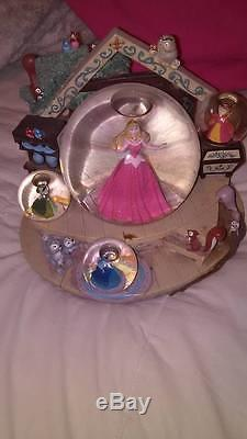 Disney Sleeping Beauty Rare Musical Snow Globe