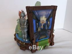 Disney Snow Globe Haunted Mansion Mickey & Friends Haunted Ride In Original Box