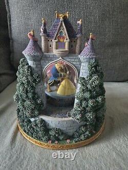 Disney Snow Globe Multi Princess Royal Ball Dancing Movement Musical Rare Boxed