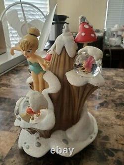Disney Snow Globe Peter Pan Ultra Rare Tinkerbell