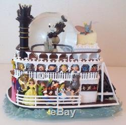 Disney Snow Globe Riverboat Liberty Belle Mickey Mouse