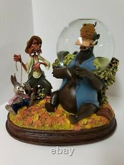 Disney Song Of The South Snow Globe Limited Edition With Art Work