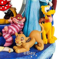 Disney Store 30th Anniversary Snowglobe 2017 New