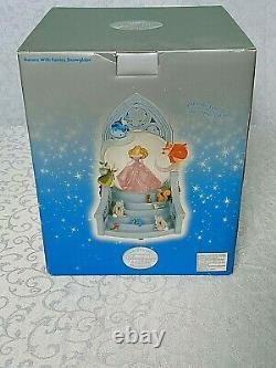 Disney Store AURORA with Fairies SNOW GLOBE Sleeping Beauty Once Upon A Dream NIB