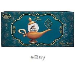 Disney Store Art Of Jasmine Aladdin Snowglobe Genie Lamp Music Whole New World