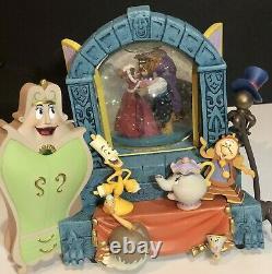 Disney Store Beauty And The Beast Wardrobe Snow Globe