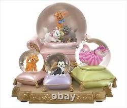 Disney Store Japan 2021 Cat Day Figure Snow globe Marie Figaro Oliver Cheshire