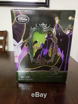 Disney Store Limited Edition Disney Villains Maleficent snow globe new