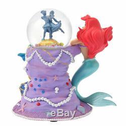 Disney Store Little Mermaid 30th Ariel Snow globe Snow dome Japan Rapid Air