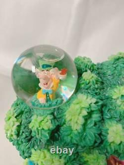 Disney Store Official Alice In Wonderland Snow Globe Dome 500 Limited USED FedEx