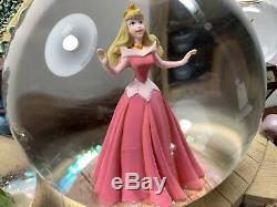Disney Store Sleeping Beauty Snow Globe & Music Box Once Upon a Dream Multiple
