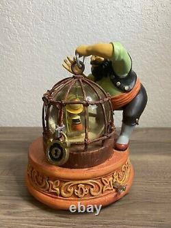 Disney Store Snow Globe Stromboli Pinocchio Jiminy Cricket 2001 Read Description