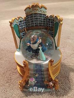 Disney Store's Beauty and the Beast Library Snow Globe