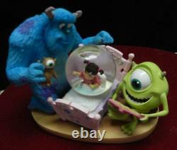 Disney StorePixarMonsters IncSullyMikeBedtime for BooSnowWater GlobeTag