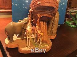 Disney THE LION KING Snow Globe Circle Of Life Pride Rock In original box